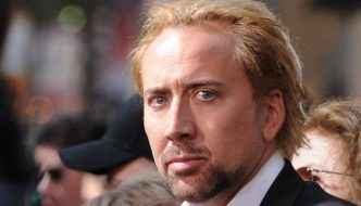 Nicolas Cage en una de sus películas