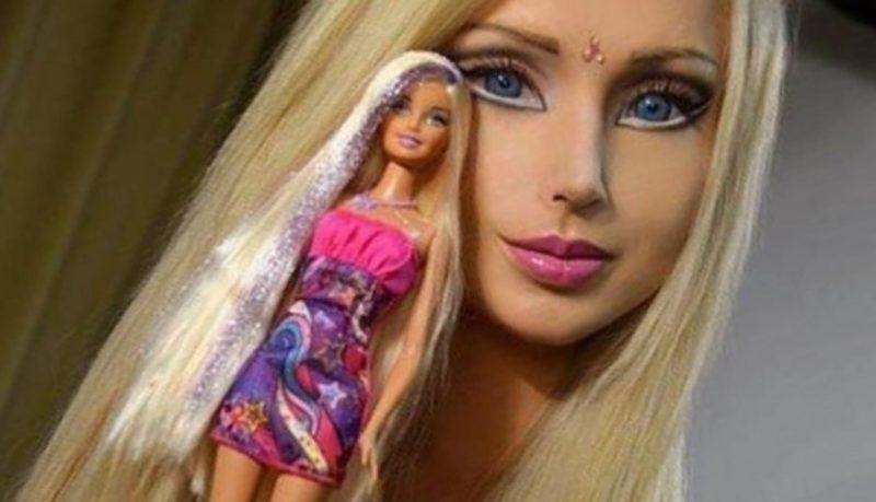Valeria Lukyanova es la doble en carne y hueso de Barbie